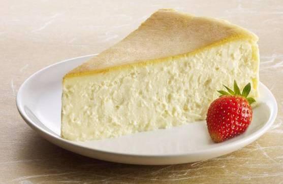 Crustless Cream Cheese Cake