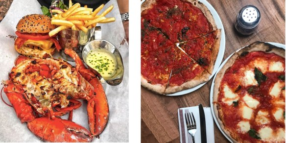 Restaurants To Watch Burger Lobster And Tramonti Pizzeria